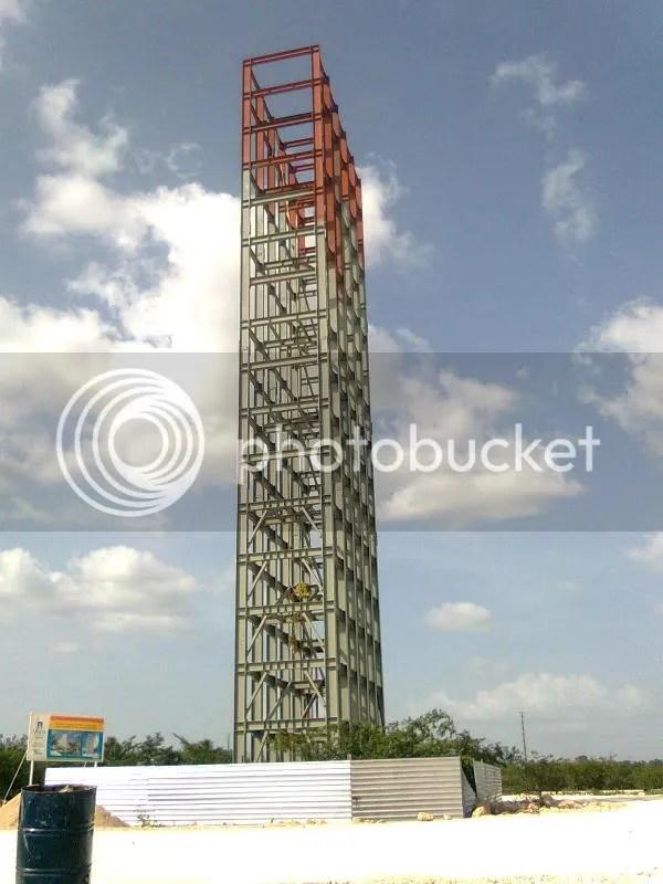 mirador animaya en construcción