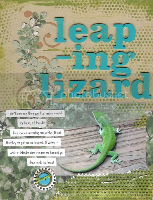 Leaping Lizard