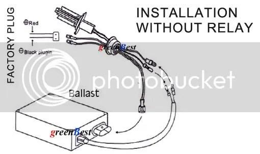 35W 55W Canbus H7 HID Xenon Conversion KIT Car Headlights