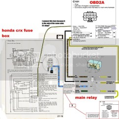 1990 Crx Radio Wiring Diagram Yaskawa J1000 88 Civic Dpfi Engine Harness Prelude