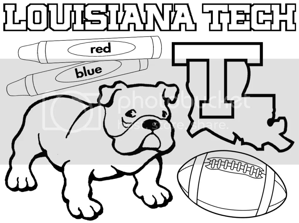2014 Louisiana Tech Football Guide for Kids (and Kids at