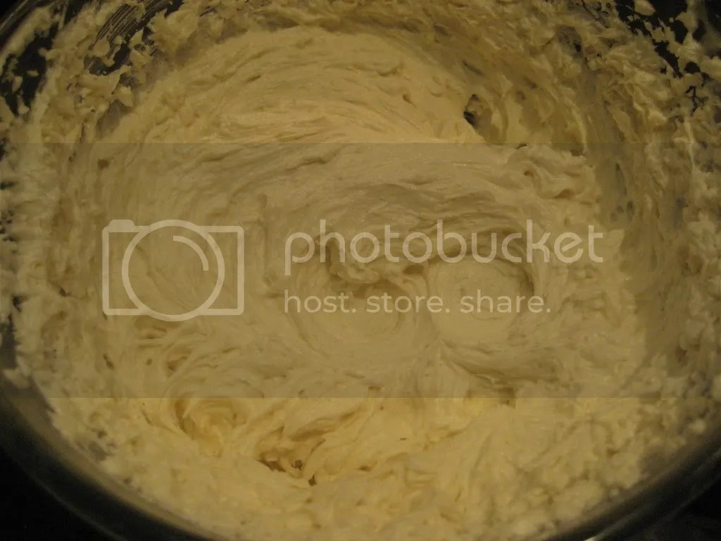 Once all the flour and milk paste is mixed in.  Mix on the highest speed for 7 minutes.