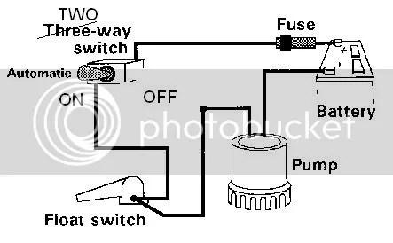 3 Way Switch Wiring Diagrams With Float Bilge Pump. Bilge