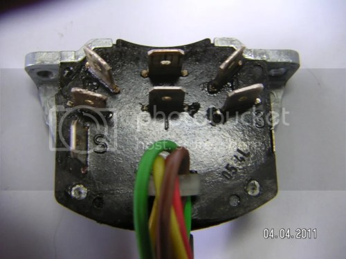 small resolution of when you take your turn signal out the rear of the switch with the connectors will look like this