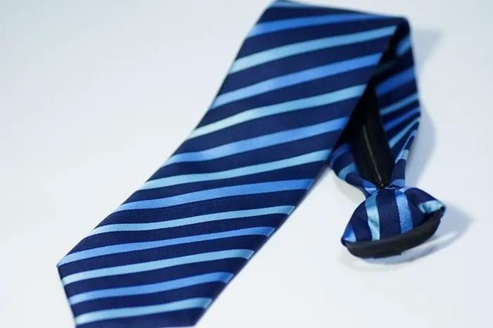 懶人領帶 免綁領帶 好看便宜 上班族 婚禮(淺藍斜紋)t04_領帶領結_男裝_CPshirt