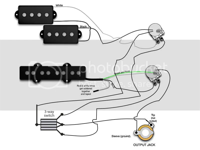 fender pj wiring diagram