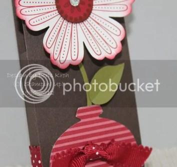 Blätter und Blumentopf