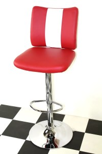 American Diner Retro Style Stool Chair Furniture Kitchen ...