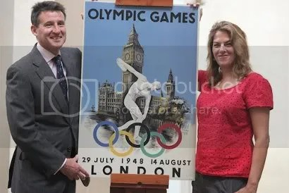 Seb Coe and Tracy Emin