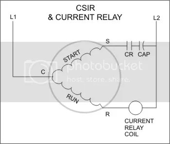 Refrigeration: Refrigeration Current Relay