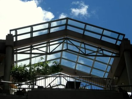 the view from Ala Moana Mall at Center Stage