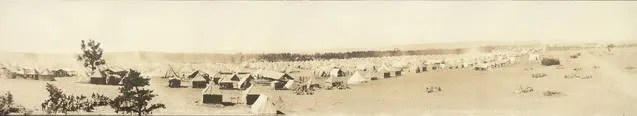Encampment at Camp Bartlett, Westfield MA 1917