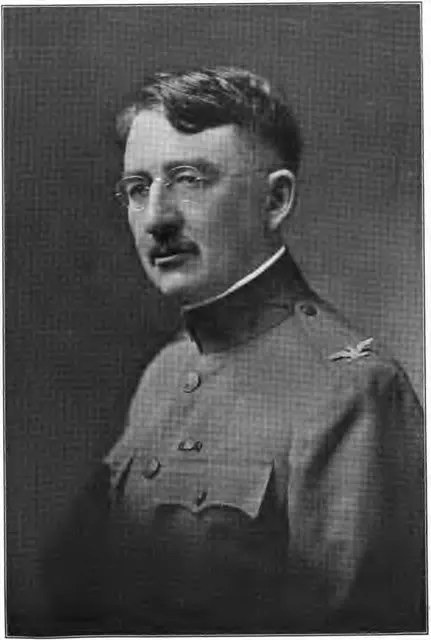 Col. Frank H. Hume, Commander 103rd Infantry