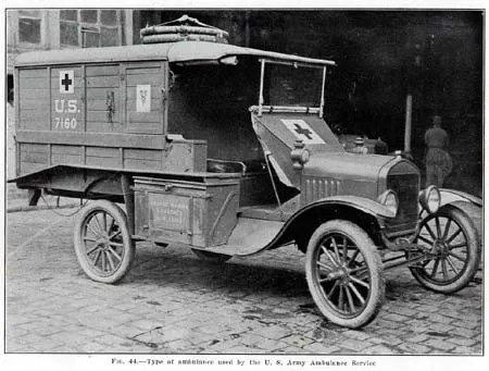 U.S. Army Ambulance, 1918