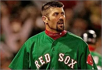 Jason Varitek, Captain (Boston Globe photo)