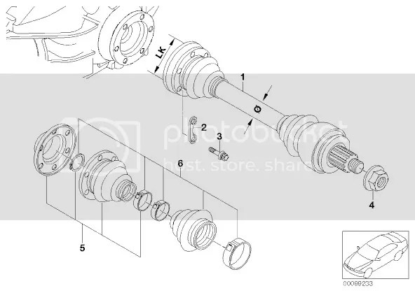 bmw e30 differential overhaul kit instructions