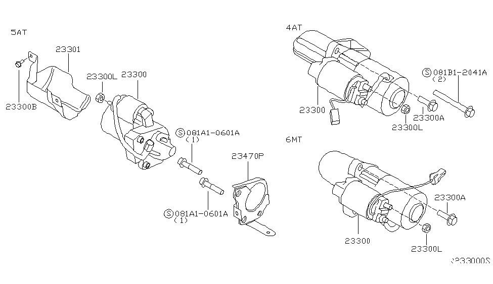 2004 Maxima Starter Wiring Harness : 34 Wiring Diagram