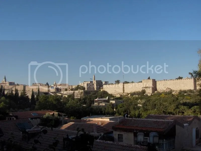 The View to the Old City Jerusalem