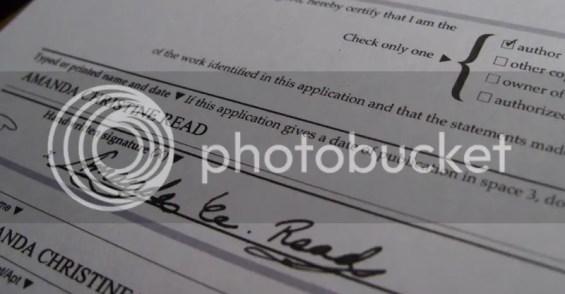 Signature on PA Form