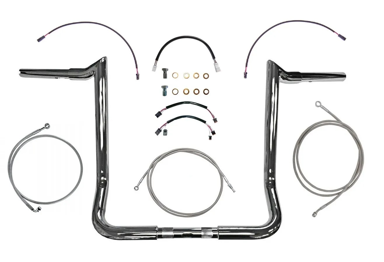 Chrome Ultra Limited Handlebar Kit 12