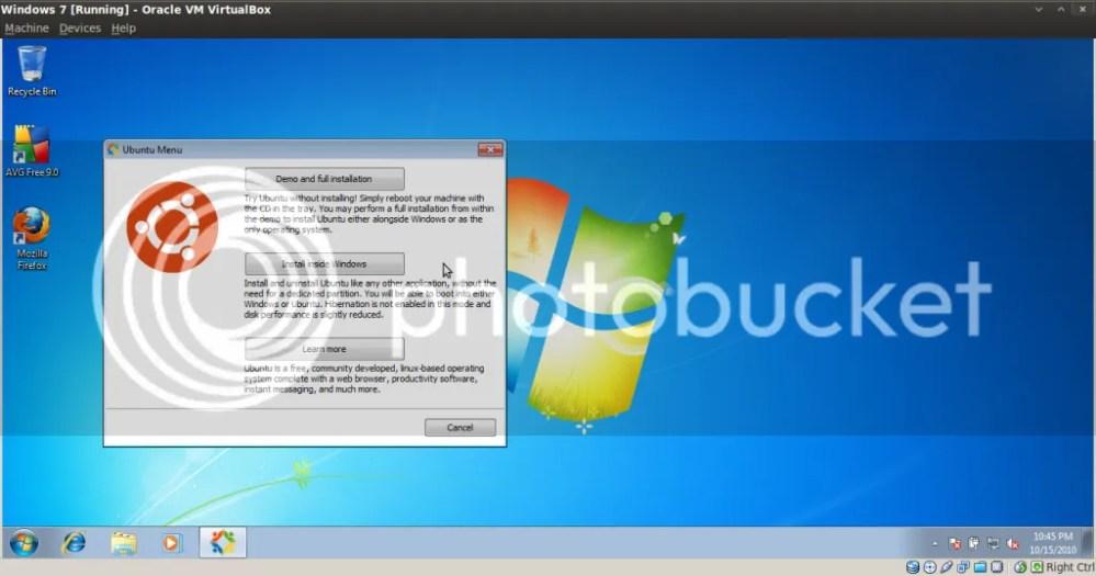 Hướng dẫn cài đặt Ubuntu nằm trong Windows bằng Wubi (2/6)