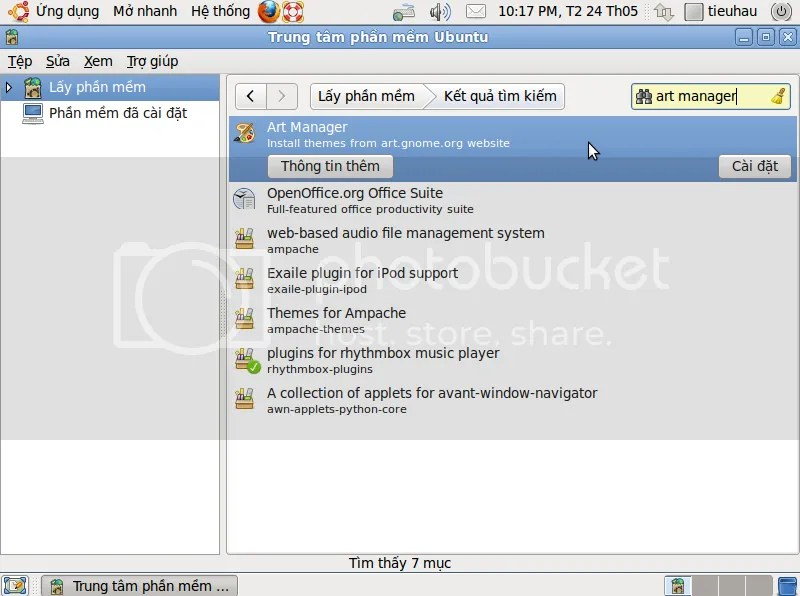 Cài đặt ứng dụng mới qua Trung tâm phần mềm   nguyentieuhau's blog