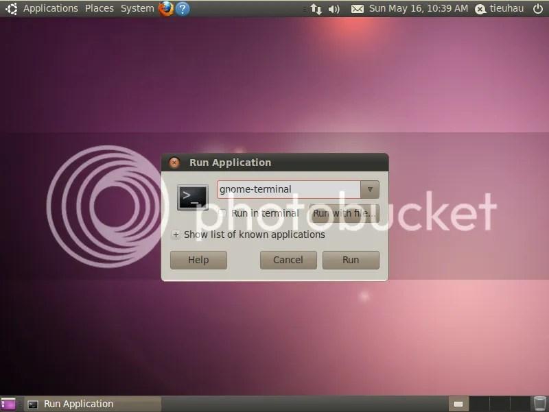 Sử dụng giao diện dòng lệnh trong Ubuntu (2/3)