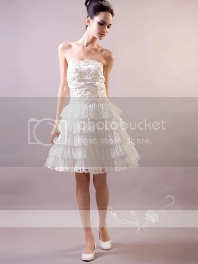 Coloured Wedding Dresses