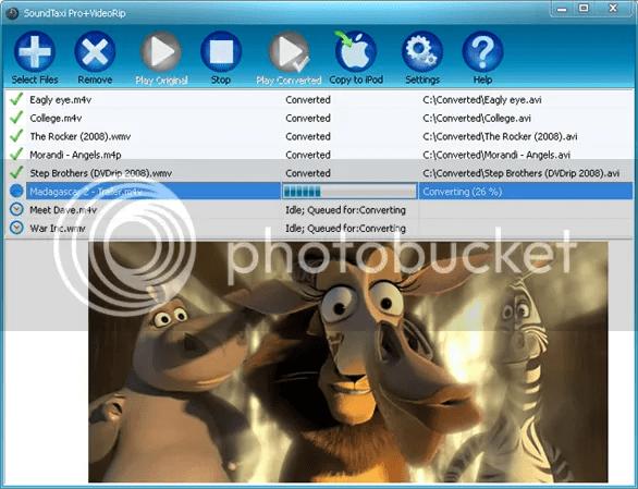 SoundTaxi Pro VideoRip, SoundTaxi Pro VideoRip