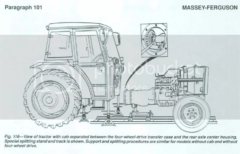 MASSEY FERGUSON TRACTOR WORKSHOP MANUAL ON CD
