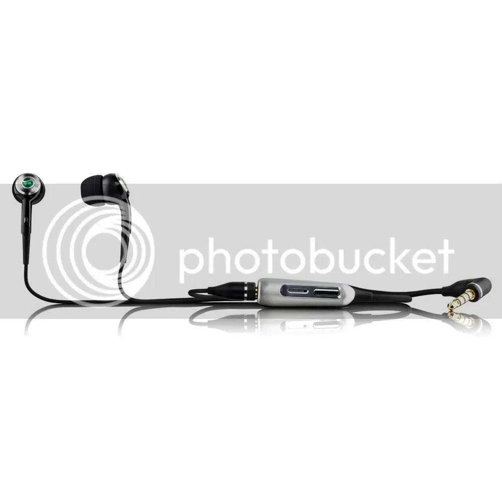 Auricolari cuffie nero stereo MH700 originale Sony