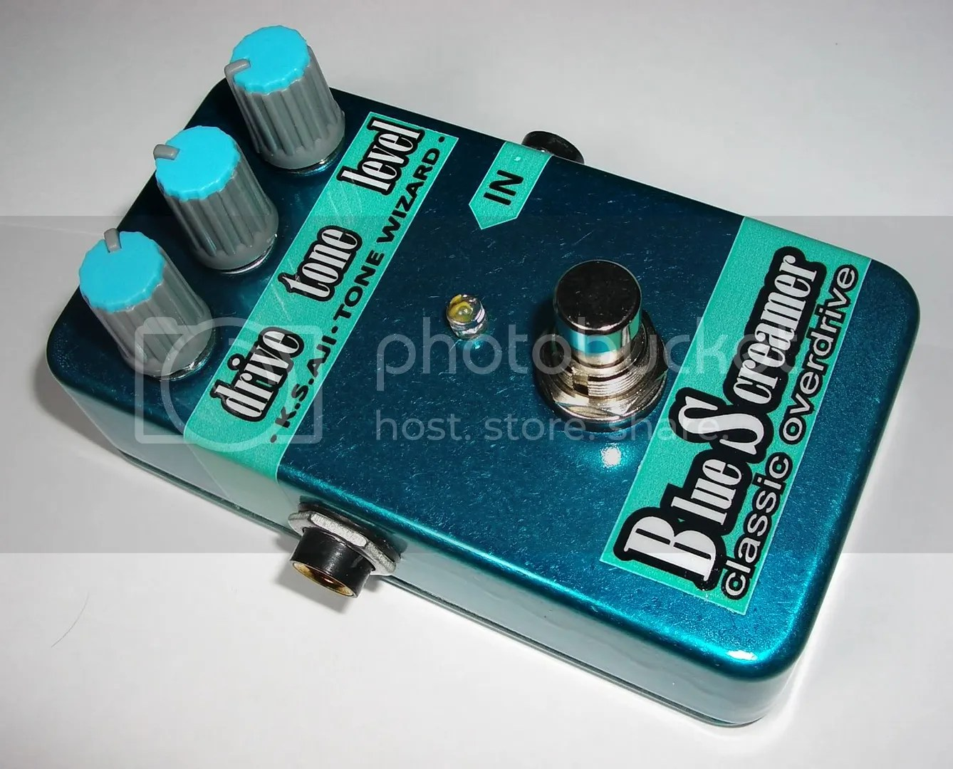 only one in the whole world...Benjamin Rajas OD pedal!