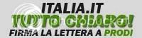 Firma la lettera a Prodi per fare chiarezza su italia.it