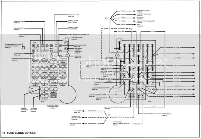 2000 Chevy Astro Van Fuse Box Diagram, 2000, Free Engine