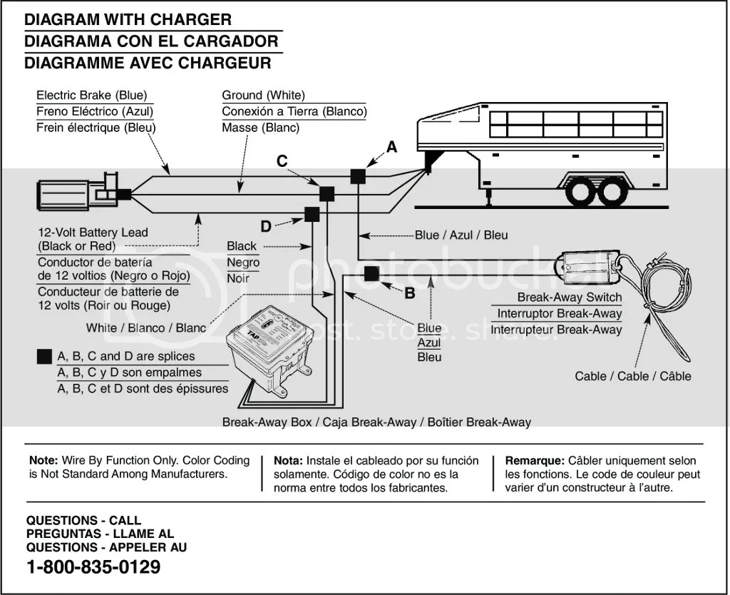 electric trailer brake wiring diagram honeywell frost protection kit break away hopkins breakaway system caravan