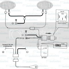 Wiring Diagram For Spotlights On Hilux Dsl Splitter Remote Control Searchlight  Readingrat