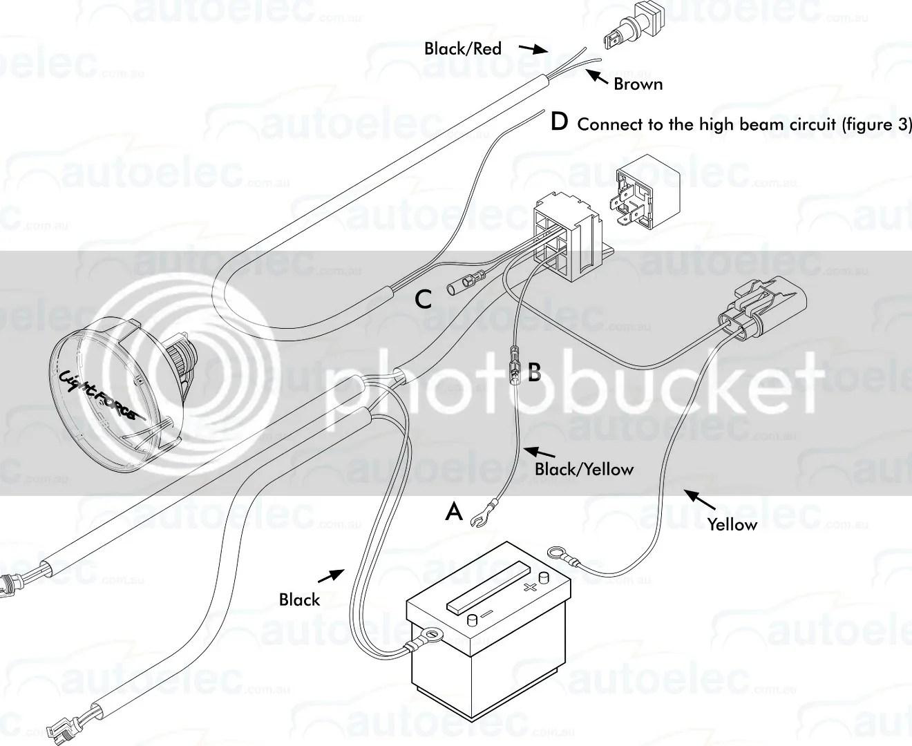 narva wiring diagram driving lights 3 chambered heart genuine lightforce 240 xgt 100w watt x2