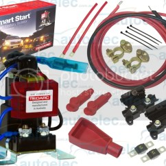Red Arc Dual Battery Isolator Wiring Diagram Small Engine Ignition Switch Redarc Sbi12kit System Complete Package