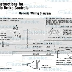 Wiring Diagram For Trailer Mounted Brake Controller Mortgage Process Electric Tekonsha Primus Iq + | Ebay