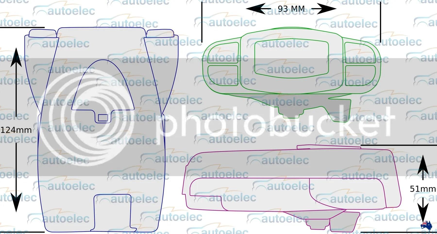 australian caravan wiring diagram fender mustang tekonsha p3 prodigy trailer electric brake controller + bonus   ebay