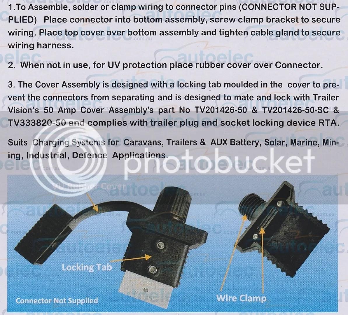 anderson plug wiring diagram for caravan 1982 chevy silverado connector genuine 50a amp 43 trailer vision