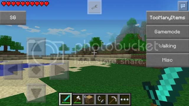 SuperGamer Mod MCPE Gamemode Change Mob Editor