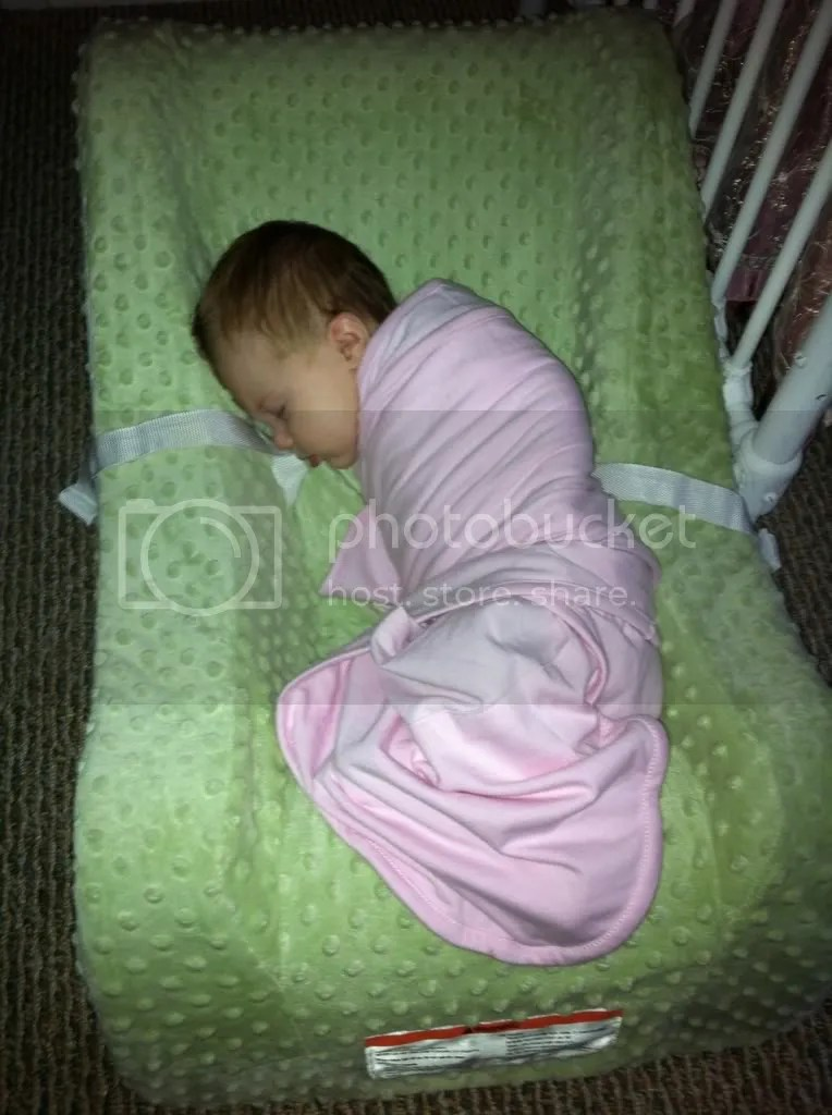Swaddled babies sleeping on their side? - BabyCenter