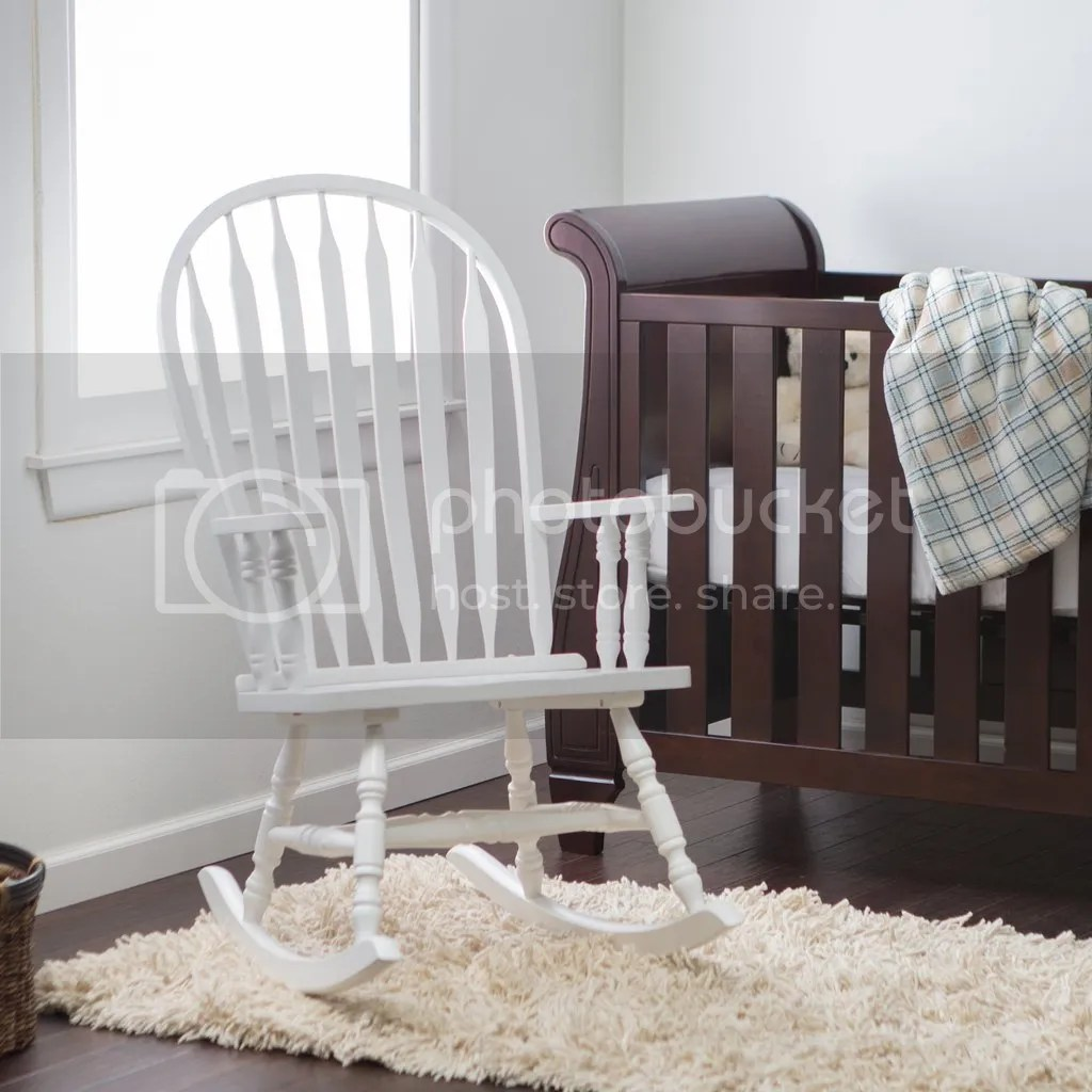Wooden Rocking Chair For Nursery Details About Indoor Wooden Rocking Chair White Baby Nursery Living Room Rocker Seat Furniture