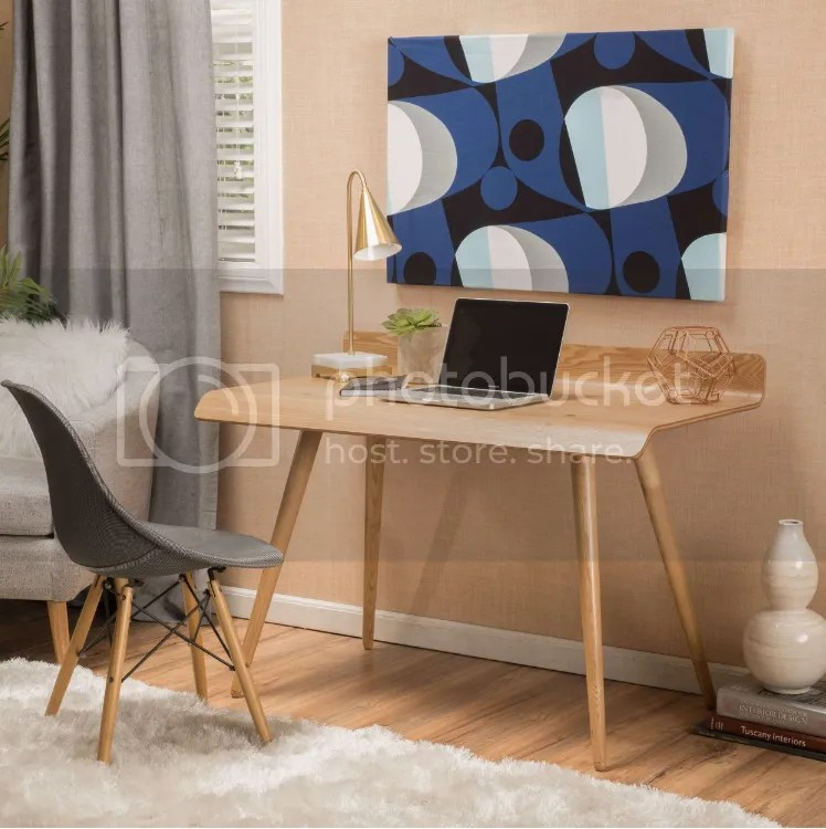 Home Decorators Desk Small Spaces Writing Solid Wood Home Office