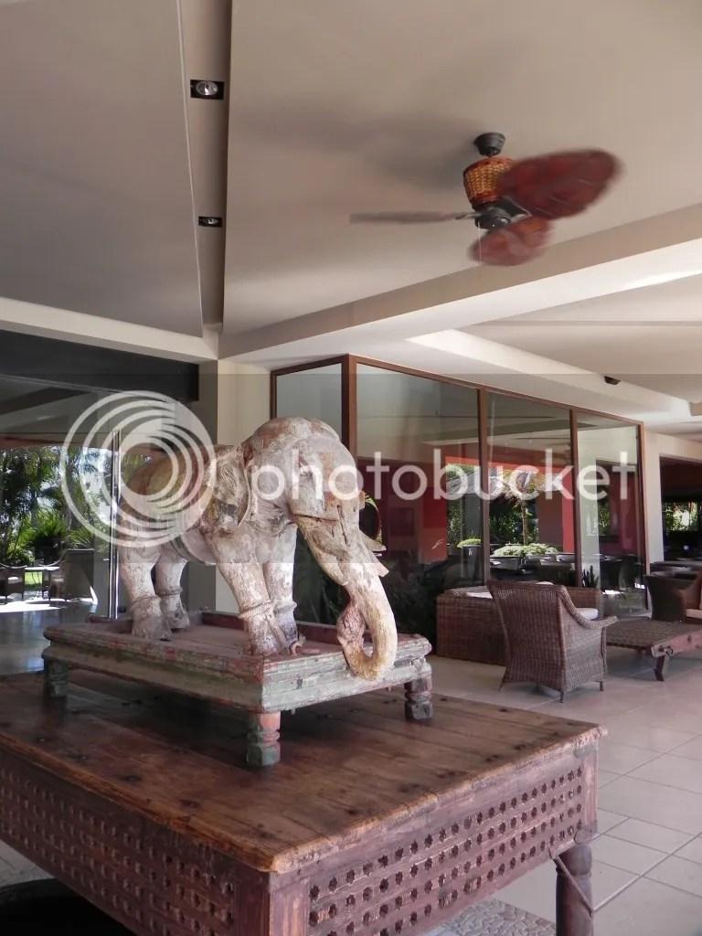 detalle decorativo del hotel