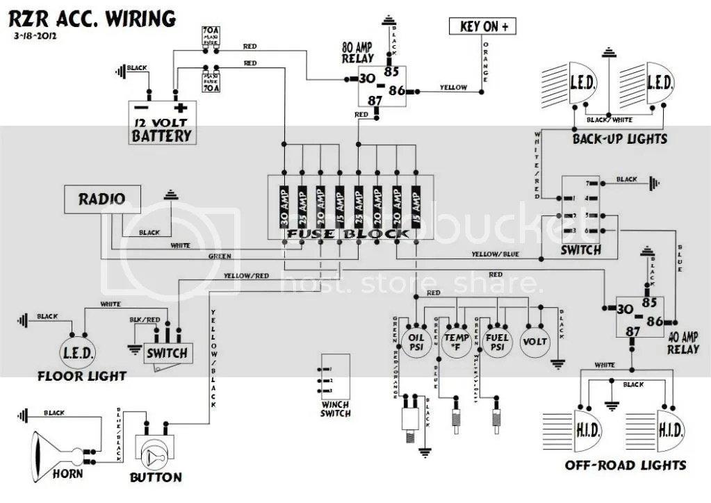 Wiring Diagram For Polaris Razr 800