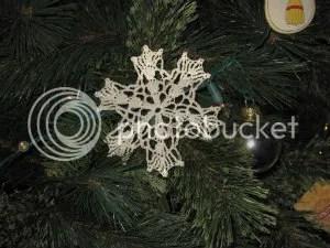 A Lace Snowflake
