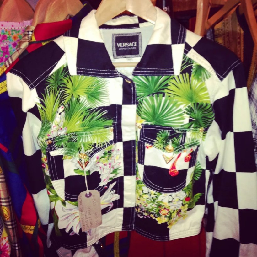 Nines Vintage Versace Jacket - The P-Ho Diaries