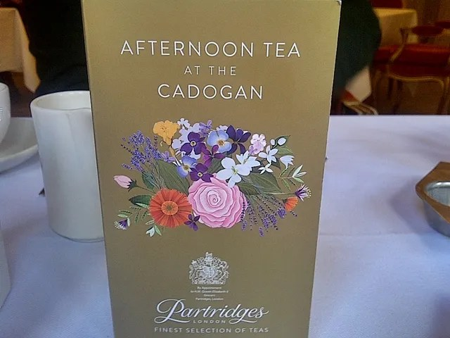 afternoon tea cadogan hotel